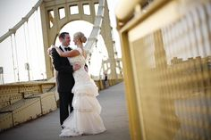 Nicole Beehner and Thomas Combs - Pittsburgh Magazine Real Weddings 2013