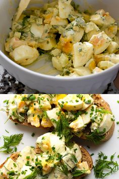 An easy recipe for absolutely the best Classic Egg Salad! Make the perfect egg salad sandwich or use it to top salads, crackers or even avocado halves. Perfect for low carb and keto diets. recipe for lunch The BEST Egg Salad Healthy Egg Salad, Easy Egg Salad, Potato Salad With Egg, Healthy Salad Recipes, Best Egg Salad Recipe, Salad Recipes Video, Egg Recipes, Recipe Videos, Free Recipes