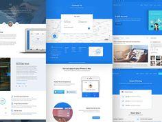 Market+ website design