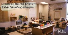 Setting up the 3rd Teacher: A peek into Sidney's Classroom l Fairy Dust Teaching
