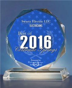 2016 #BestofBusiness #Award from the Colorado Springs Awards Program