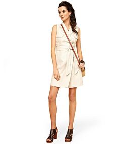 Linen Wrap Dress | Brooks Brothers