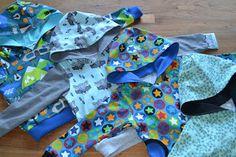 4 hoodies made by Stipjes en datjes