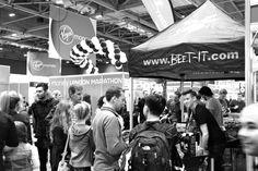 Beet It at the 2014 London Marathon Expo