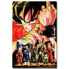 Dragon Ball Z Poster Trunks Super Saiyan 12inx18inches Free Shipping