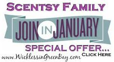 Join in January , special offer. www.katmills.scentsy.us