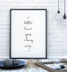 Handwritten Personalised Quote Print by Over & Over, the perfect gift for Explore more unique gifts in our curated marketplace. Typography Prints, Quote Prints, Wall Prints, Framed Quotes, Wall Art Quotes, Personalised Family Print, Initial Wall Art, Print Handwriting, Handwritten Logo