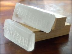 Make your own resin soap stamp