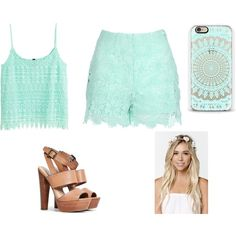 Sin título #608 by candelita-del-pino on Polyvore featuring moda, H&M, Jane Norman, Steve Madden and With Love From CA