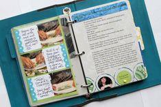 family recipe book/scrapbook