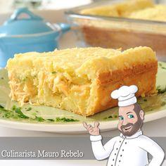 Torta Salgada de Polenguinho        Estou testando receitas de massas de tortas e recebi essa receita da amiga Cida - Energia Jogos .  Olhan...