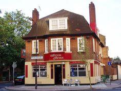 Asylum Tavern in Asylum Road and Meeting House Lane in Peckham South East London England