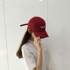 red aesthetic ulzzang girl 얼짱 cherry bomb strawberries soft minimalistic kawaii cute g e o r g i a n a : a e s t h e t i c s