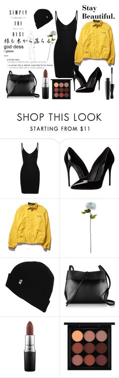 """""""9:11 p.m."""" by m-y-r-a ❤ liked on Polyvore featuring Commando, Dolce&Gabbana, Polo Ralph Lauren, Shabby Chic, Billabong, Kara, MAC Cosmetics, modern, women's clothing and women's fashion"""
