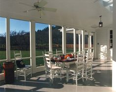 Screened Porch - bottom baseboards