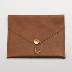 ipad cover in camel.