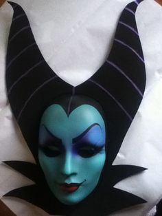 Maleficent Mask Evil Queen Sleeping by PiratesQuarters on Etsy, wow.