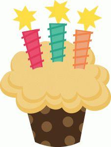 Silhouette Design Store - View Design #39955: birthday cupcake