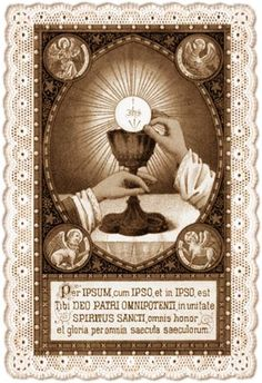 """""""There is nothing so great as the Eucharist. If God had something more precious, He would have given it to us."""" (St. John Vianney) ✝  #Catholic #MyCatholicFaith #HolyCommunion #StJohnVianney"""