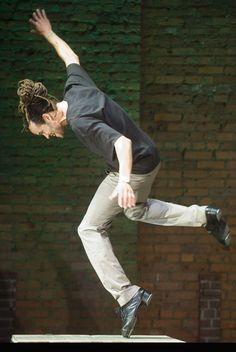 """Savion Glover in """"STePz,"""" photo by Elijah Paul"""