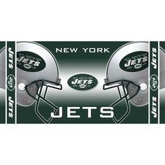 New York Jets NFL Beach Towel