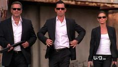 Burn Notice - blowing stuff up in style! Mayhem never looked so good...