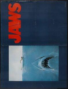 Jaws poster, t-shirt, mouse pad Jaws Movie Poster, Movie Posters, Black And White, Canvas, Shirt, Movies, Tela, Black N White, Dress Shirt