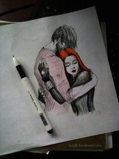Black Widow Winter Soldier, Black Widow Movie, Marvel Heroines, Marvel Characters, Marvel Art, Marvel Dc Comics, Precious Plum, Bucky And Natasha, Drawing Sketches