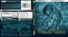 The Shape Of Water 4k Bluray Cover The Shape Of Water Cover Blu Ray