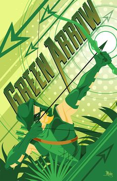 Justice League - Green Arrow by Mike Mahle § Find more artworks: www.pinterest.com/aalishev/pins