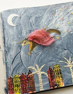 Telling stories with art allows your imagination to soar!