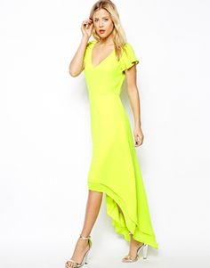 ASOS High Low Hem Maxi Dress  if only i could have my hands on this
