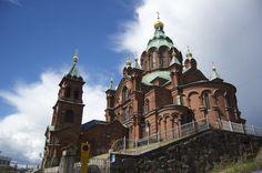 The German Church  Helsinki, Finland