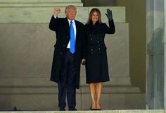 Countdown to Inauguration:  Our new President  & First Lady.  1/18/17