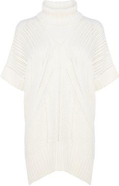 Karen Millen Chunky Knit Tunic on shopstyle.co.uk