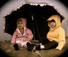 Nursery Rhymes Photoshoot - Rain, Rain Go away.