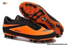 fc199b4a9 White Black Yellow Nike Hypervenom Phelon AG Jnr Boots Cheap Soccer Cleats