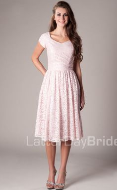 Modest Bridesmaid Dresses : Darby