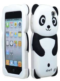 For Apple Ipod Touch 5 5th Generation Panda Silicone Jelly Skin Cover Case Black Accessory Bastex http://www.amazon.com/dp/B00A3EO4C8/ref=cm_sw_r_pi_dp_NdFlub0BASY7G