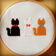 Disney Aristocats Cross Stitch Pattern