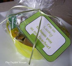 Teacher's St. Patrick's Day Gift