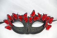 Who can resist the mysterious allure of a masquerade mask? Its the perfect, dramatic accessory for a masquerade ball, wedding, costume party,