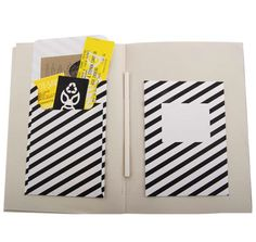 Another variation of carrying the striped / lined theme through