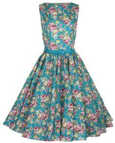 Lindy Bop Classy Vintage Audrey Hepburn Style 1950's Rockabilly Swing Evening Dress (M, Turquoise) Lindy Bop,http://www.amazon.com/dp/B00D2R8SJS/ref=cm_sw_r_pi_dp_hKQctb1650F9831B