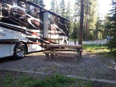 Canada - Alberta - Lake Louise: Lake Louise Trailer Campground