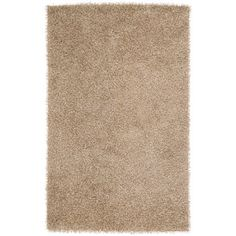 Art of Knot Columbia Hand Woven Polyester Area Rug, 5' x 8', Beige