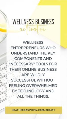 You can create a sales-generating website in 3 days WITHOUT the technology overwhelm with the Wellness Business Activator. This course was created to rescue health and wellness entrepreneurs (YOU) from drowning in online technology and help you create a website that brings you leads and makes you sales ... in just 3 days! Small Business Marketing, Online Business, Coach Website, Free Training, Feeling Overwhelmed, Free Website, Health Coach, Health And Wellness, Coaching