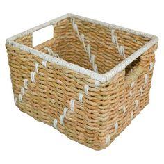 Handwoven Decorative Basket Natural - Pillowfort™ at Target. Affiliate link.