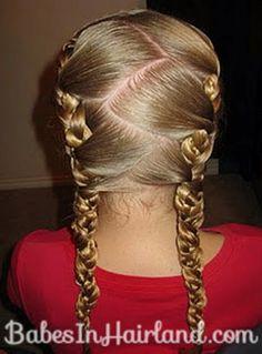 A really really tight braid