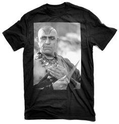 Mola Ram black t-shirt. Indiana Jones and the Temple of Doom.